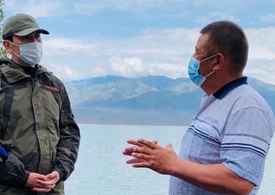 Министр экологии рК встретился с аграриями