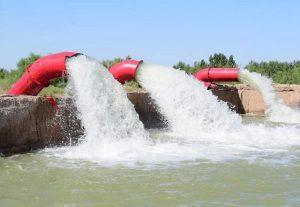 канал в Туркестанской области