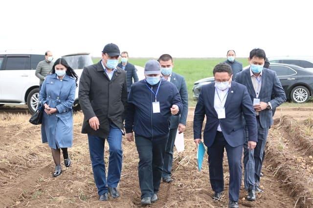 Министр сельского хозяйства посетил КХ Тимур