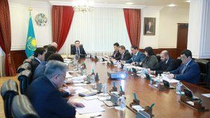 Премьер-Министр РК А. Мамин провел совещание по вопросам развития животноводства