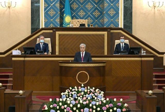 Послание Главы государства Касым-Жомарта Токаева народу Казахстана