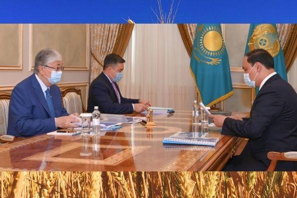 Президент принял министра сельского хозяйства
