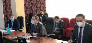 Сапархан Омаров на встрече с представителями из Турции