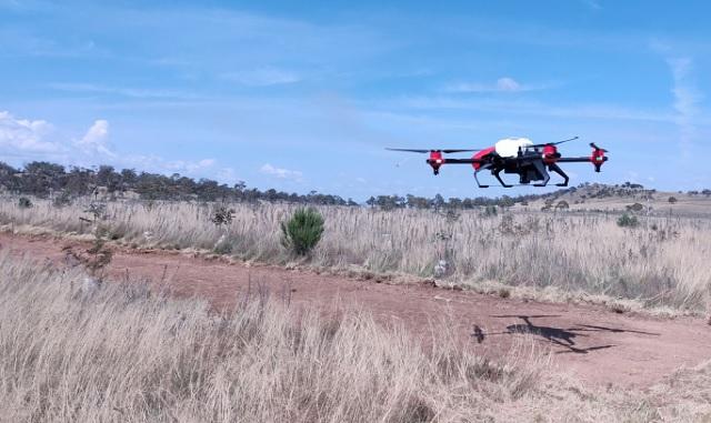 Сельскохозяйственный дрон XAG
