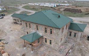 Строительство лаборатории в поселке Шалабай