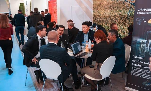 встречи партнеров на выставке KazAgro/KazFarm-2021